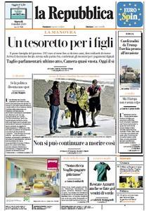 la Repubblica - 8 Ottobre 2019