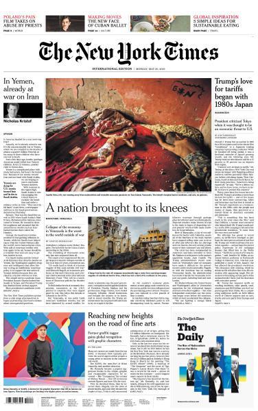 International New York Times - 20 May 2019