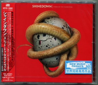 Shinedown - Threat To Survival (2015) {Japan 1st Press}