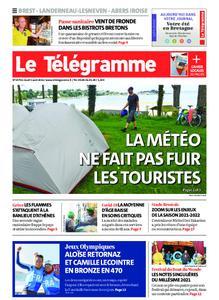 Le Télégramme Brest Abers Iroise – 05 août 2021