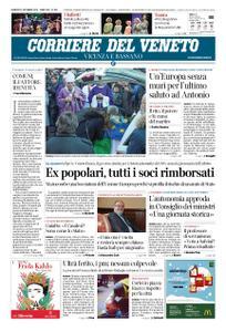Corriere del Veneto Vicenza e Bassano – 21 dicembre 2018