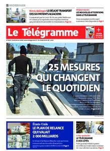 Le Télégramme Auray – 26 mars 2020