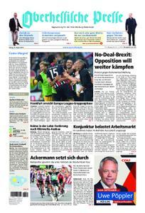 Oberhessische Presse Marburg/Ostkreis - 30. August 2019