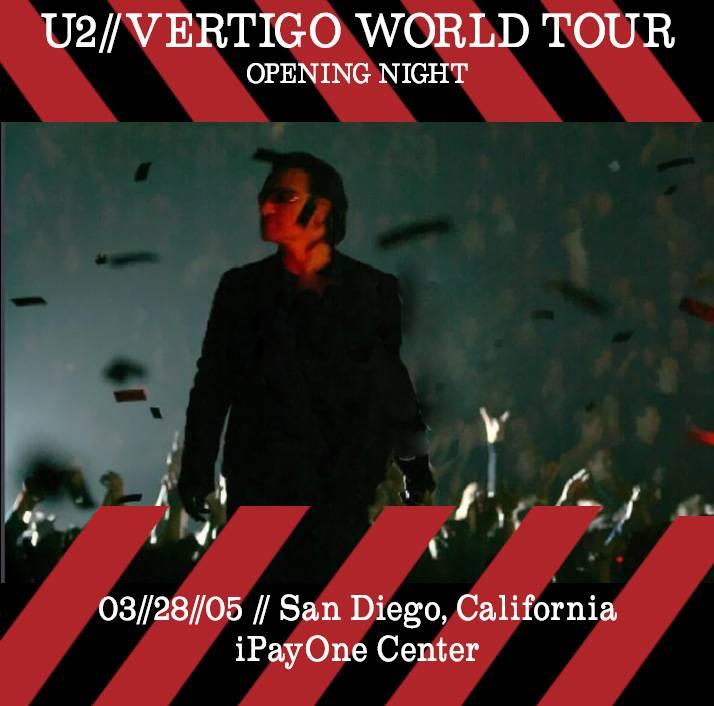 U2 - Vertigo World Tour
