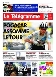 Le Télégramme Brest Abers Iroise – 04 juillet 2021