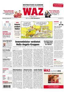 WAZ Westdeutsche Allgemeine Zeitung Oberhausen-Sterkrade - 19. Oktober 2017
