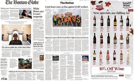 The Boston Globe – October 09, 2019