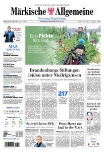 Märkische Allgemeine Zossener Rundschau - 11. Dezember 2017