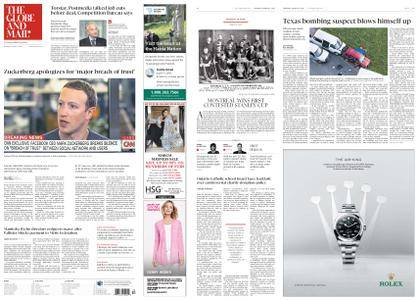 The Globe and Mail – March 22, 2018