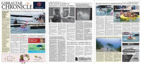 Gibraltar Chronicle – 21 August 2018