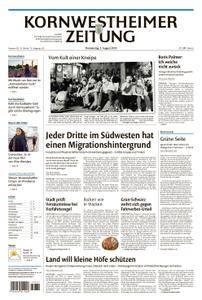 Kornwestheimer Zeitung - 02. August 2018