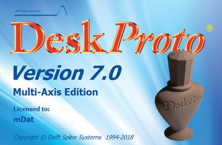 DeskProto 7.0 Revision 8267 Multi-Axis Edition