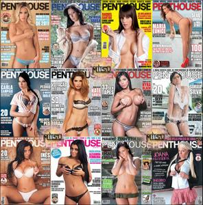 Penthouse Portugal - Full Year 2012 Issues Collection