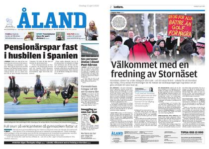 Ålandstidningen – 22 april 2020