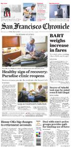 San Francisco Chronicle Late Edition - May 24, 2019