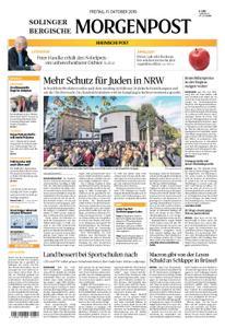 Solinger Morgenpost – 11. Oktober 2019