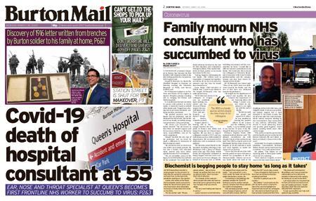 Burton Mail – March 30, 2020