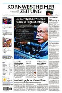 Kornwestheimer Zeitung - 27. September 2018