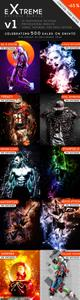 Graphicriver - Extreme Photoshop Actions Bundle - 21729657