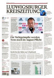 Ludwigsburger Kreiszeitung LKZ - 11 August 2021