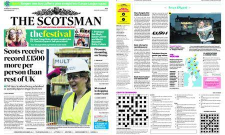 The Scotsman – August 23, 2018