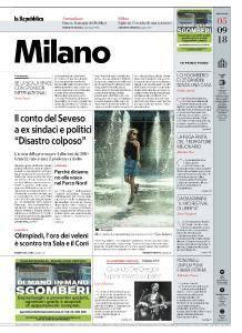 la Repubblica Milano - 5 Settembre 2018