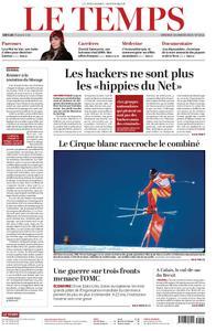 Le Temps - 18 janvier 2019