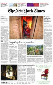 International New York Times - 22 June 2018
