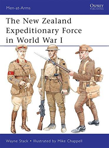 The New Zealand Expeditionary Force in World War I (Men-at-Arms 473) (Repost)