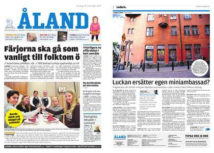 Ålandstidningen – 24 november 2017
