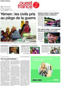 Ouest-France Édition France – 13 août 2019