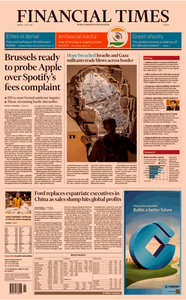 Financial Times Europe – 6 May 2019