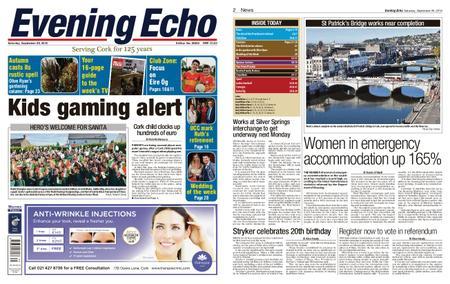 Evening Echo – September 29, 2018