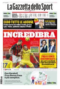 La Gazzetta dello Sport Roma – 09 novembre 2020