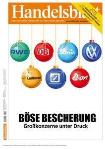 Handelsblatt - 23. Dezember 2015