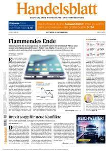 Handelsblatt - 12. Oktober 2016