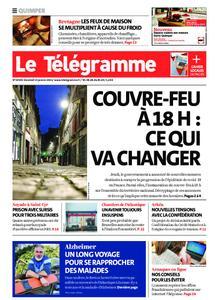 Le Télégramme Quimper – 15 janvier 2021