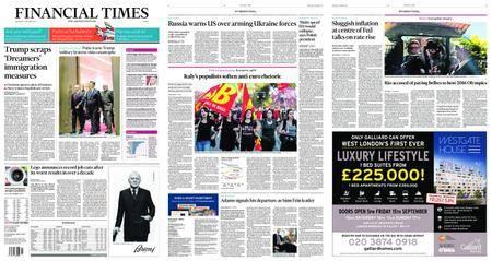 Financial Times Europe – September 06, 2017
