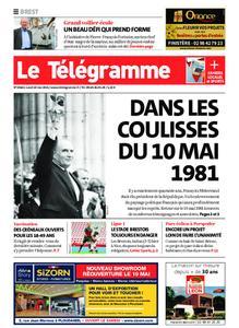 Le Télégramme Brest – 10 mai 2021