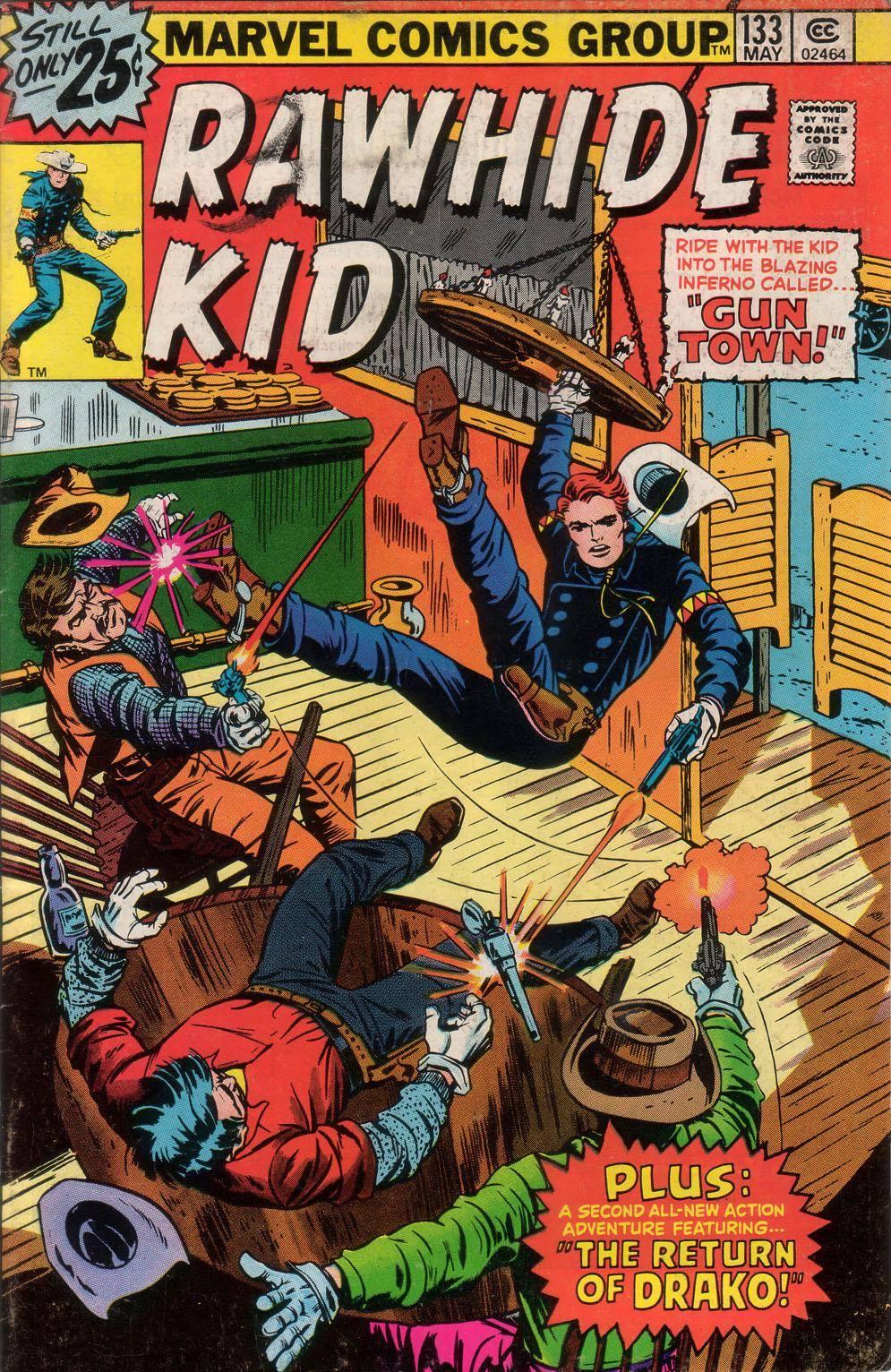 Rawhide Kid v1 133 1976