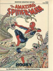 Marvel Graphic Novel 22 - Spider-Man - Hooky 1986