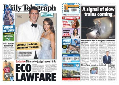 The Daily Telegraph (Sydney) – February 12, 2019