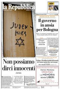 la Repubblica - 25 Gennaio 2020