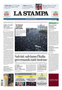 La Stampa Imperia e Sanremo - 15 Dicembre 2019
