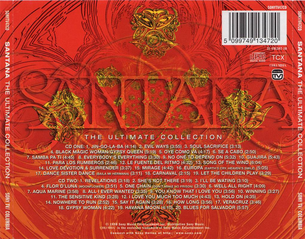 Santana The Ultimate Collection: The Ultimate Collection (1998) / AvaxHome