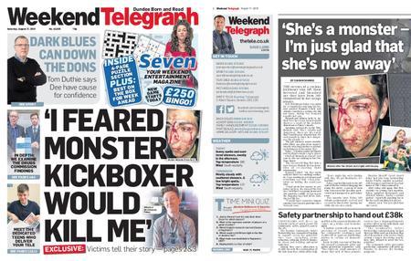 Evening Telegraph First Edition – August 17, 2019