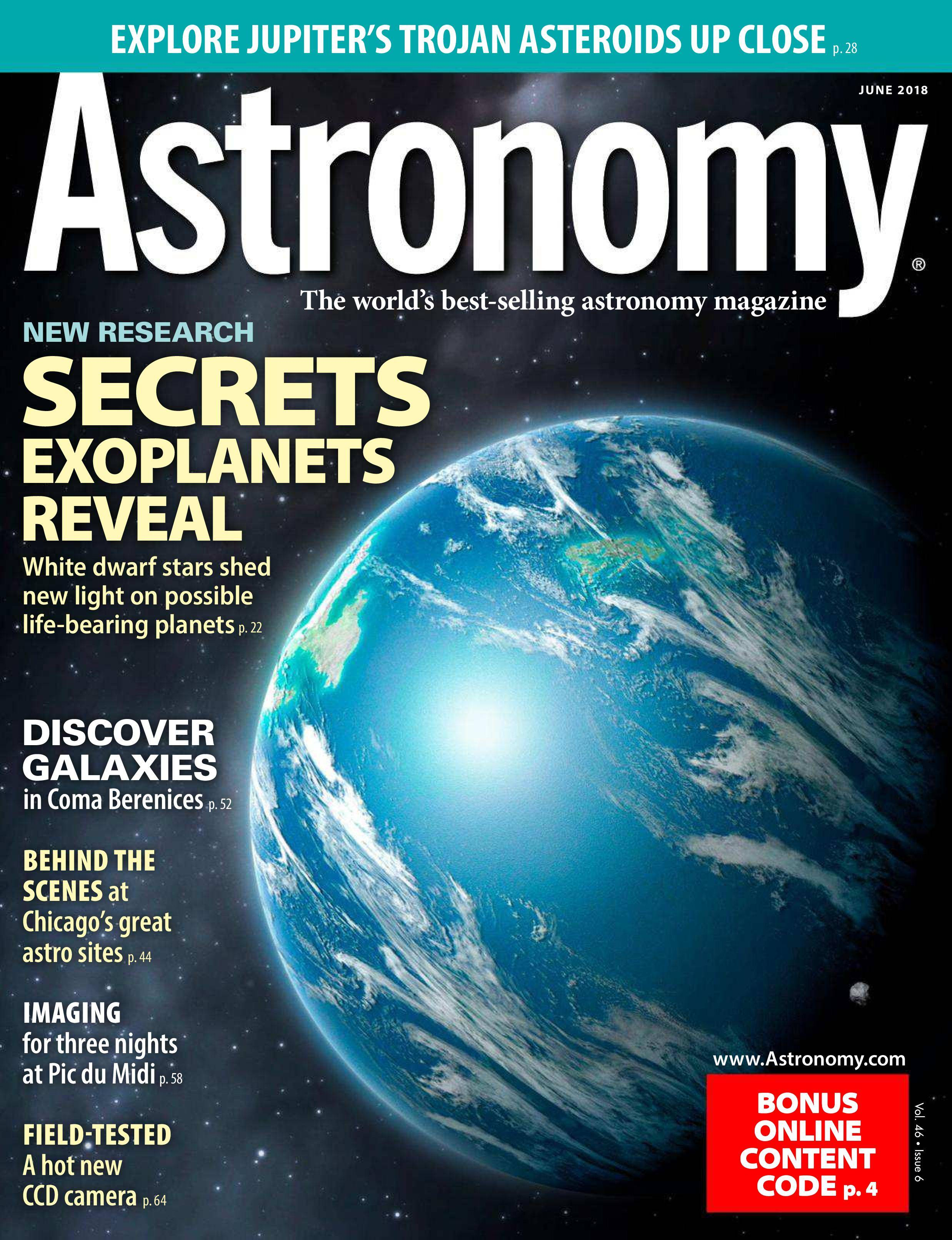 astronomy magazine kalmbach publishing - HD829×1080