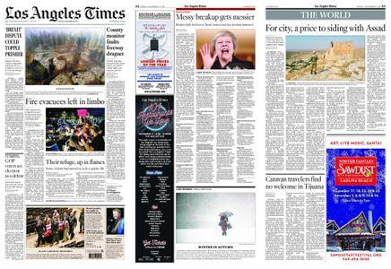 Los Angeles Times – November 16, 2018