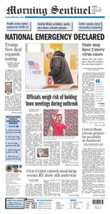 Morning Sentinel – March 14, 2020