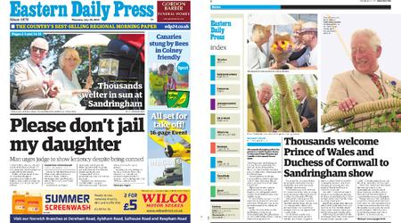 Eastern Daily Press – July 25, 2019